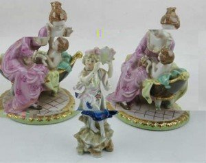 figural porcelain studies