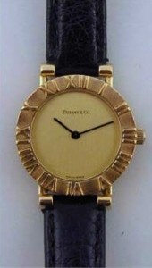 18ct gold ladies wristwatch