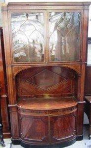 mahogany clerks cabinet