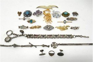 group of jewellery
