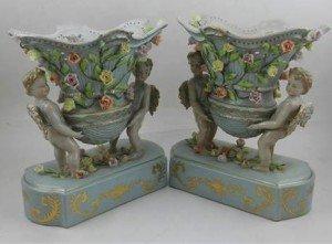 porcelain comports