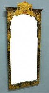 lacquer wall mirror