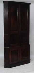 freestanding corner cupboard