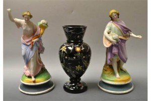 painted parian figures