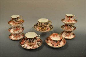 pattern cup and saucers