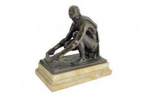 bronze of Arrotino