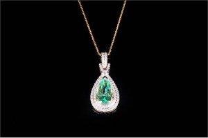 Diamond Pendant Drop