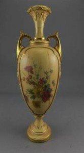 Twin Handle Pedestal Vase