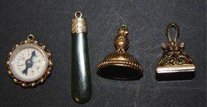 bloodstone set pendant