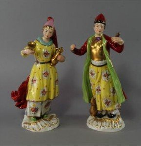 porcelain models of a a Turk