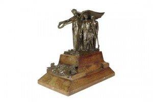 bronze maquette
