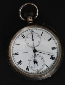 chronograph pocket watch