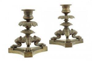 tripod candlesticks
