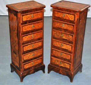 french kingwood cabinets