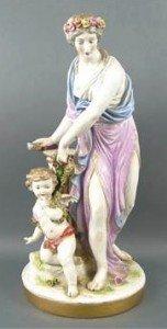 porcelain figure group