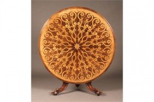 satinwood marquetry