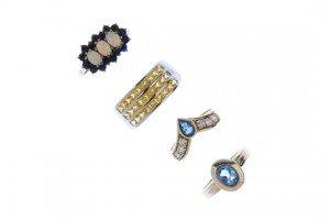 gem-set dress rings