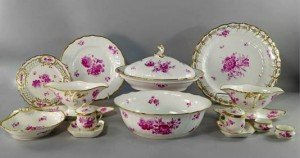 porcelain part dinner service