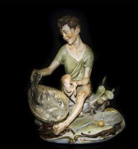 Figure of a Fisherboy