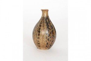 Lambeth stoneware vase