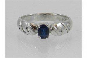 sapphire ring,