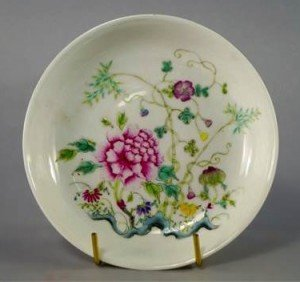porcelain shallow bowl