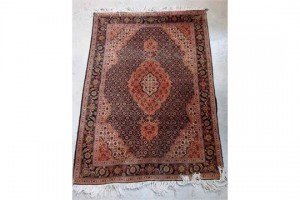 Middle Eastern wool rug
