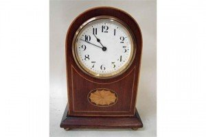 dome top mantel clock