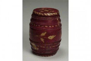 ivory miniature barrel