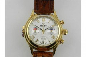 chronograph wristwatch