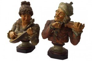 terracotta bust figures