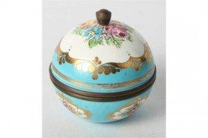spherical box