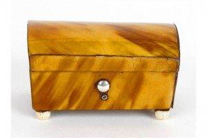 tortoiseshell trinket box