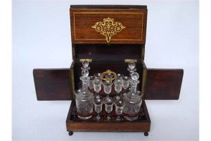 rosewood decanter box