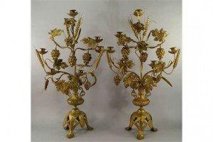 seven branch candelabra