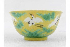 Chinese porcelain rice bowl,