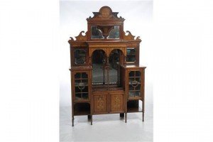 mirror back cabinet