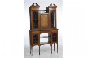 mahogany cabinet