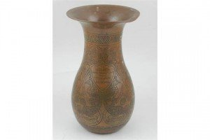 baluster shaped vase