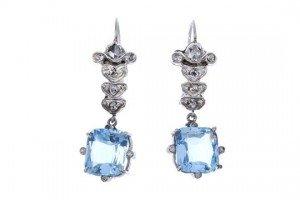 diamond ear pendants