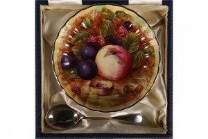 bone china circular dish