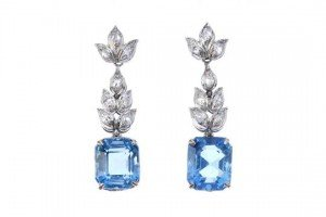 diamond ear pendants