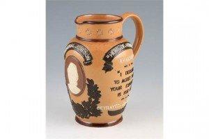 Lambeth stone ware jug