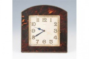 tortoiseshell surround clock