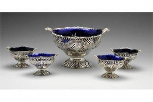 five pierced dishes