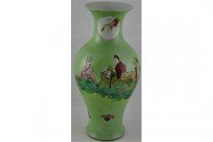 Chinese baluster vase