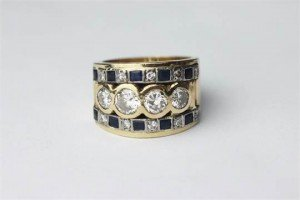 apphire ring