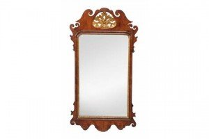 fretwork wall mirror