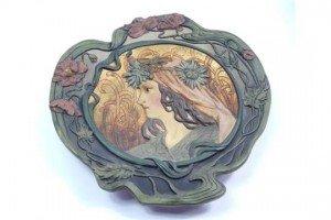 terracotta plaque