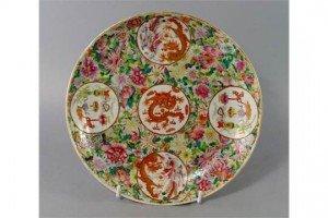 medallion dish
